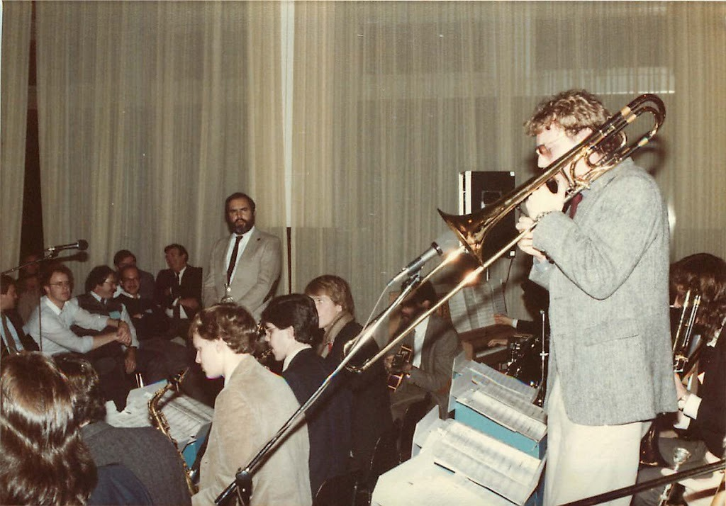 Randy Brecker and the Manhattan School of Music big band 1983