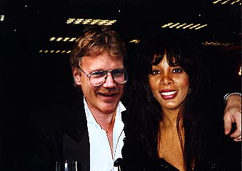Donna Summer and me in Atlantic City
