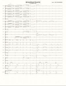 02 Concert Band_Susannas Waltz_score sample